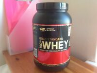 FREE ON Gold Standard 100% Whey and energy drink