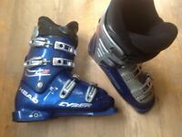 Men's ski boots, Head Cyber C8, blue, size 9.5