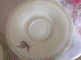 Portmerion porcelain garden tea set ,unused