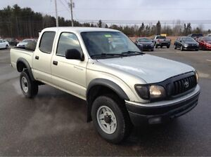 2001 Toyota Tacoma Double Cab 4x4! RARE, SOLID, As-Is Sale!