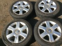 """Vw 16"""" alloys from my 5 golf"""