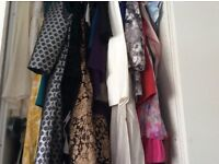 Wardrobe clearance clothes, shoes, bags- designer & high street