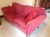 Laura Ashley traditional style sumptuous sofa.