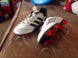 Adidas football boots size C10