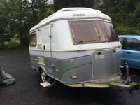 Eriba 320 GT Touring with washroom and toilet
