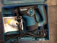 Makita rotary sds hammer drill 110v
