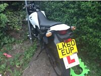 Suzuki wr 125 4 stroke 2010 60 plate needs mot but runs and rides perfect