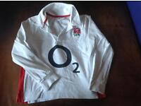 Genuine England rugby top age 5-6