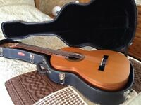 Raimundo 104-m classical guitar, with Stagg hard case.