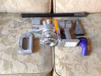 Handheld dyson DC16 with tools