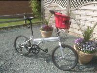 Folding bicycle. Grand Tourer