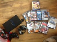 Playstation2 with games