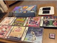 Nintendo 2ds console and games