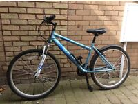 Lady's cycle nearly new ,front suspension, very good condition.