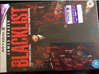 Blacklist complete first second & third season dvd