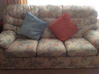 G Plan 3 Seater Sofa and Armhair