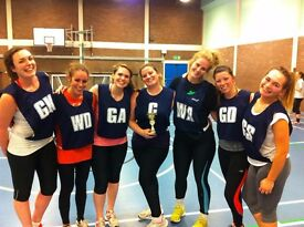 New netball league starting in Clapham South next Thursday!