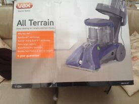Vax V-125A all terrain carpet and upholstery cleaner,