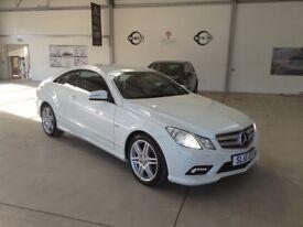 10. Mercedes E350 CDI Sport Auto. White