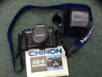 Chinon CG-5 35mm SLR camera