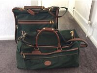 suit carrier and matching holdall bag (M&S traveller)