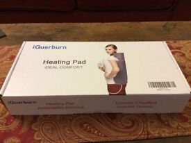 Personal electric heat pad.