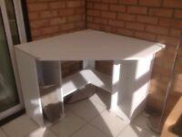 Desk with underneath storage