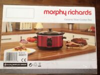 Brand New Morphy Richards Slow Cooker 3.5 litres