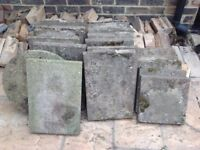 Various garden slabs - free to anyone who can collect