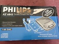 Philips portable compact disc player