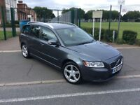 Volvo V50 1.6cc Diesel 10 Reg Top of the Range 40000 Milles New Engine
