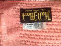 100%wool double blanket