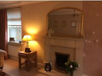 Elgin and Hall Fire surround, Marble Backplate, Hearth Nd Gas Fire