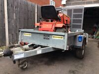 Trailer for sale. Suitable for sit on lawn mower and quad bikes.