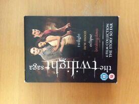 Twilight DVD boxset