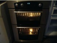 Double oven,stainless steel,excellent condition,£75.00