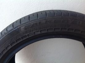 Pair of Tyres - Falken Runflats 18""