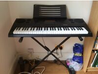 CTK-6200 CASIO keyboard with adjustable stand