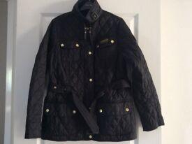 Ladies Black Quilted Barbour Jacket