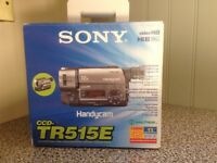 Sony Handycam TR515E plus accessories