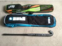 Carbon hockey stick & bag