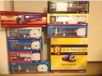 Corgi Modern Heavy Haulage Trucks Scania DAF Volvo Job Lot Diecast Models