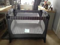 Mothercare travel cot / play pen