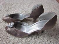 Ladies Mink Emilio Luca Honour High Heel Shoes - Size 8