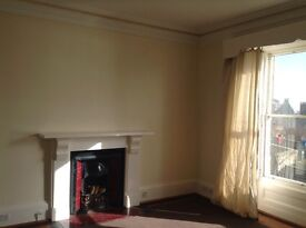 1 bed first floor unfurnished flat to let with stunning sea views