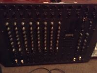 WARRIOR ANALOGUE VINTAGE MIXING DESK WORKING LOADSA FEATURES