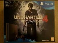 PS4 Slim with Unchartered 4 bundle