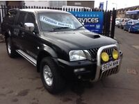 2004 MITSUBISHI L200 4x4 PICKUP EXCELLENT CONDITION *YEARS MOT* FULLY SERVICED LOW MILES SPARE KEY