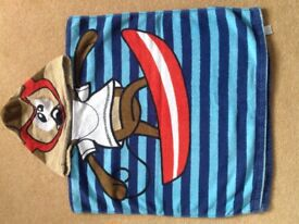 Hooded beach towel from NEXT