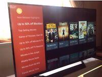 "LG 49"" SUPER Smart 4K ULTRA HD TV(49UF770),built in Wifi,Freeview HD & FREESAT HD"